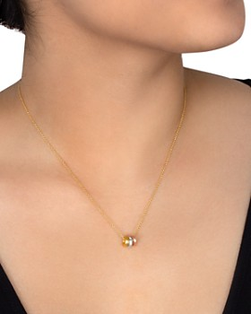 Dogeared - Collect Beautiful Moments Necklace in 14K Gold-Plated Sterling Silver, 16""