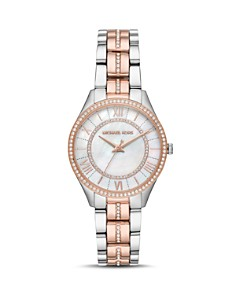 Michael Kors - Mini Lauryn Two-Tone Watch, 33mm