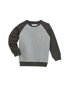 Sovereign Code - Boys' Quilted & French Terry Color Block Sweatshirt - Big Kid