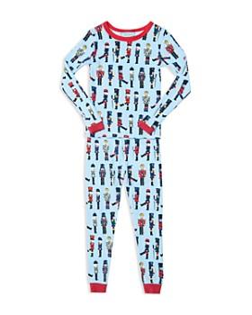 BedHead - Unisex Wooden Soldiers March On Printed Pajama Shirt & Pants Set - Big Kid