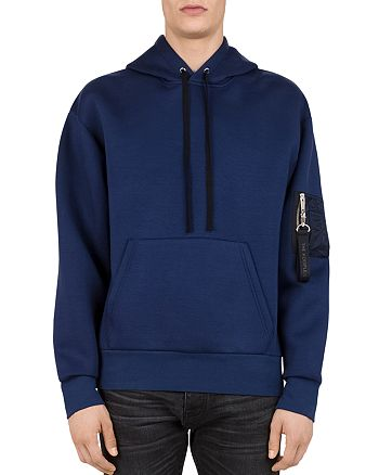The Kooples - Hooded Zip-Sleeve Sweatshirt