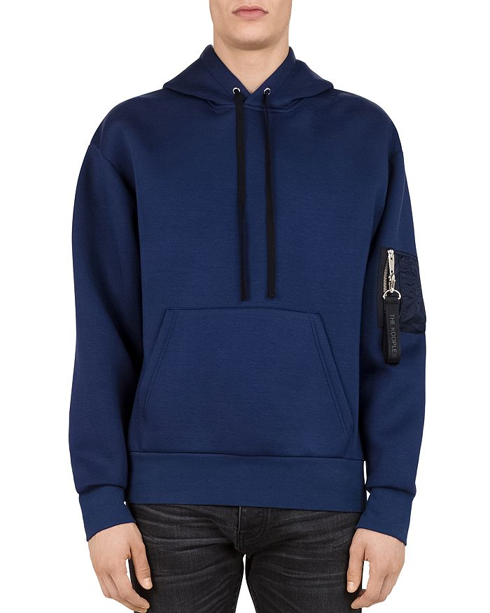 The Kooples - Hooded Zip-Sleeve Sweatshirt