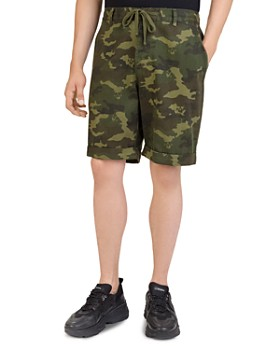 The Kooples - Camouflage Drawstring Shorts