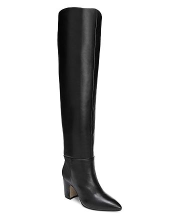 2c58e1f5c Sam Edelman - Women s Hutton Leather Over-the-Knee Boots
