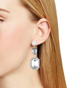Atelier Swarovski - by Tabitha Simmons Mismatched Drop Earrings