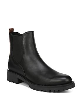 Sam Edelman - Women's Jaclyn Round Toe Leather Booties
