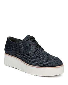 9f027f25cb4cd Vince - Women s Zina Raffia Platform Sneakers ...