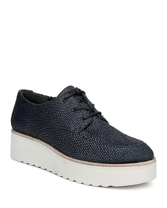 Vince - Women's Zina Raffia Platform Sneakers
