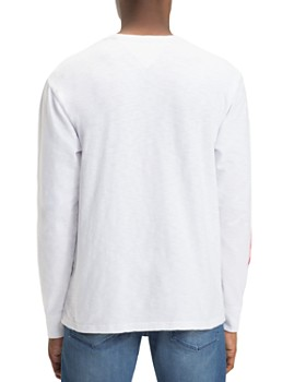Tommy Jeans - Striped Logo-Print Long-Sleeve Tee