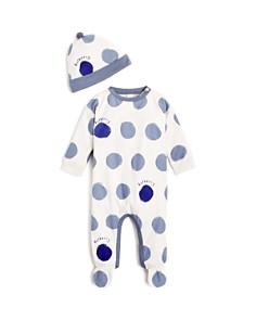 Burberry - Boys' Dots Hat & Footie Set - Baby