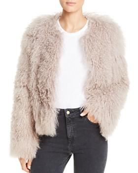 Maximilian Furs - Tibetan Lamb Fur Coat