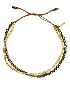 Chan Luu - Adjustable Multi-Stone Bracelet