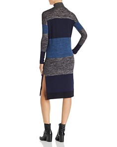 rag & bone/JEAN - Bowery Striped Turtleneck Dress