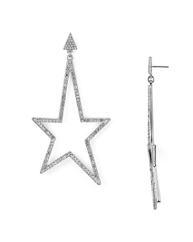 Rebecca Minkoff - Crystal Star Drop Earrings