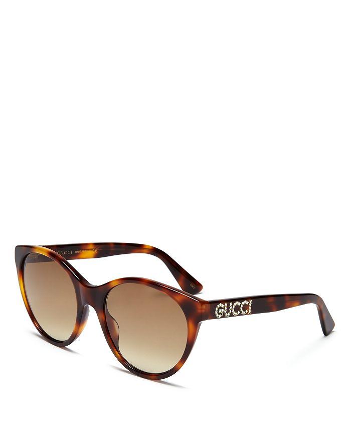 96dccd723 Gucci Women's Embellished Cat Eye Sunglasses, 54mm | Bloomingdale's