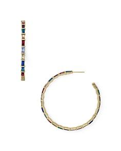 Kendra Scott - Thora Baguette Hoop Earrings