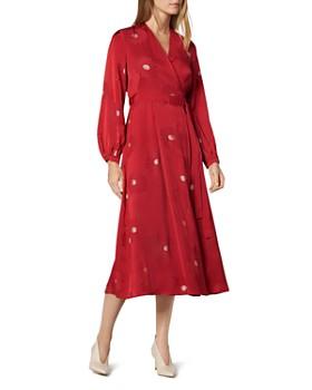L.K.Bennett - Elspeth Floral Wrap Dress