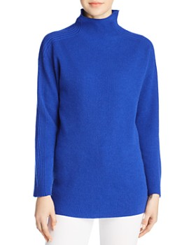 Eileen Fisher - Cashmere Funnel-Neck Sweater