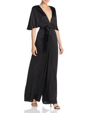 Cami Nyc Keri Fluid Wide-Leg Silk Jumpsuit