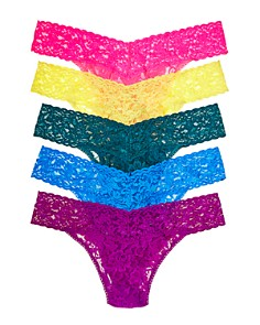 Hanky Panky - Original-Rise Thongs, Set of 5 - 100% Exclusive