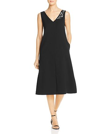Lafayette 148 New York - Dante Embellished Midi Dress