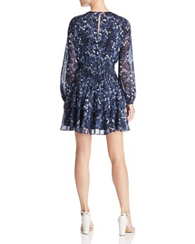 Bardot - Tiered Smocked Floral Print Dress - 100% Exclusive