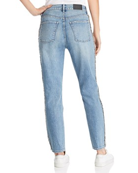 Pistola - Nico Mom High-Rise Embellished Straight-Leg Jeans in Duality