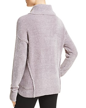 AQUA - Chenille Turtleneck Sweater - 100% Exclusive