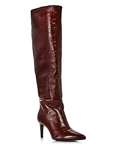 rag & bone - Women's Beha Pointed Toe Knee-High Leather Boots