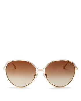 29c4c1cff21a Jimmy Choo - Women s Neva Mirrored Oversized Round Sunglasses