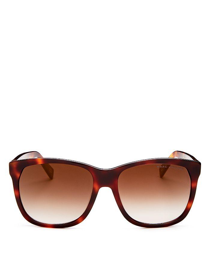 e5451ff98d3e MARC JACOBS Women's Square Sunglasses, 57mm | Bloomingdale's