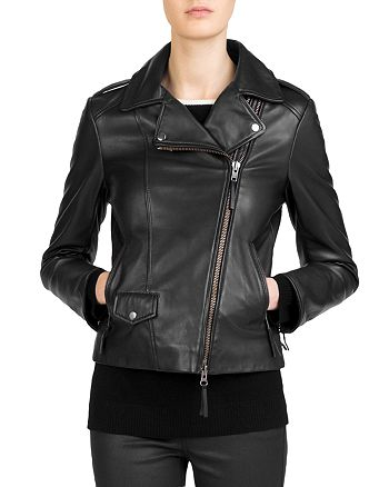 3f5e18a95501 Gerard Darel - Susan Leather Moto Jacket