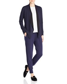 Eileen Fisher - Velvet-Stripe Jogger Pants