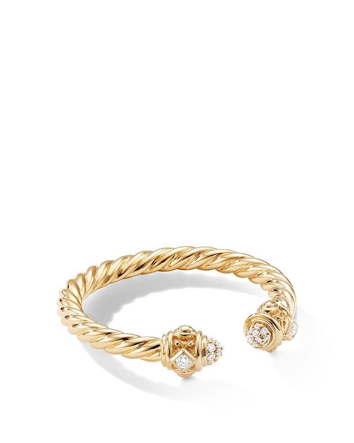 David Yurman - Renaissance Ring in 18K Yellow Gold with Diamonds