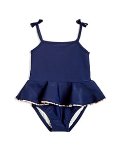 Burberry - Girls' Ludine Peplum Swimsuit - Baby