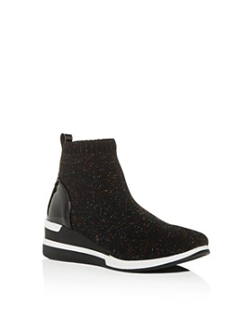 6038a1a1b92 STEVE MADDEN - Girls  JDusky Knit High-Top Platform Sneakers - Little Kid