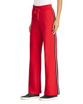Ralph Lauren - Racing Stripe Flare Sweatpants