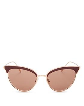 7974ada29e6 Prada - Women s Mirrored Cat Eye Sunglasses