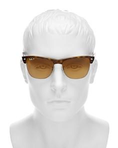 Ray-Ban - Men's Polarized Clubmaster Sunglasses, 57mm