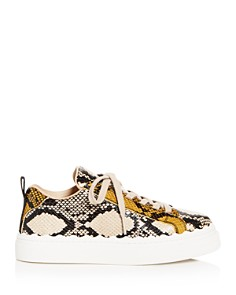 Chloé - Women's Lauren Low-Top Platform Sneakers