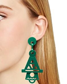 Flex Jewel - Fan Layse Drop Earrings - 100% Exclusive
