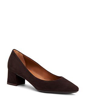 Aquatalia - Women's Pasha Weatherproof Block-Heel Pumps