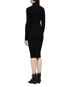 ALLSAINTS - Lacey Ring-Zip Sweater Dress