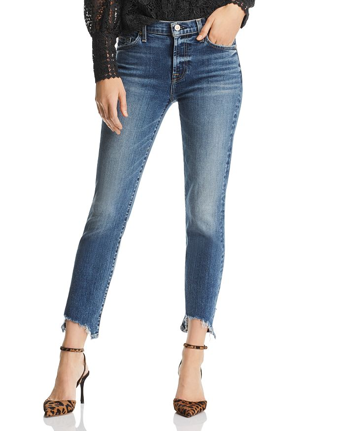7 For All Mankind - Roxanne Ankle Skinny Jeans in Authentic Medium