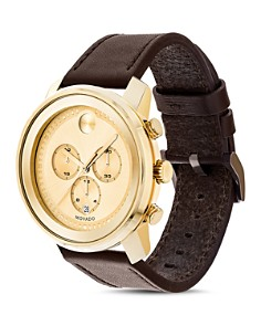Movado - Large Metals Chronograph, 44mm