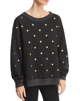 WILDFOX - Sommers Twinkle Star Print Sweatshirt - 100% Exclusive