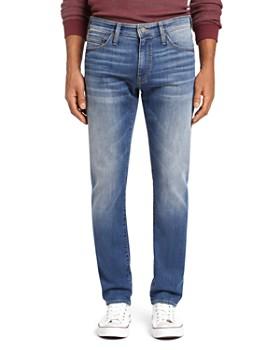 Mavi - Zach Straight Leg Jeans in Mid Foggy Williamsburg