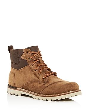 Toms Men's Ashland Waterproof Suede Hiking Boots
