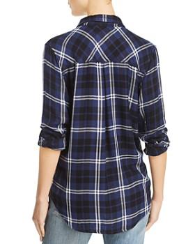 Rails - Hunter Metallic Plaid Shirt