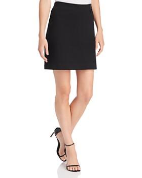 Kenneth Cole - Ponte Paneled Skirt